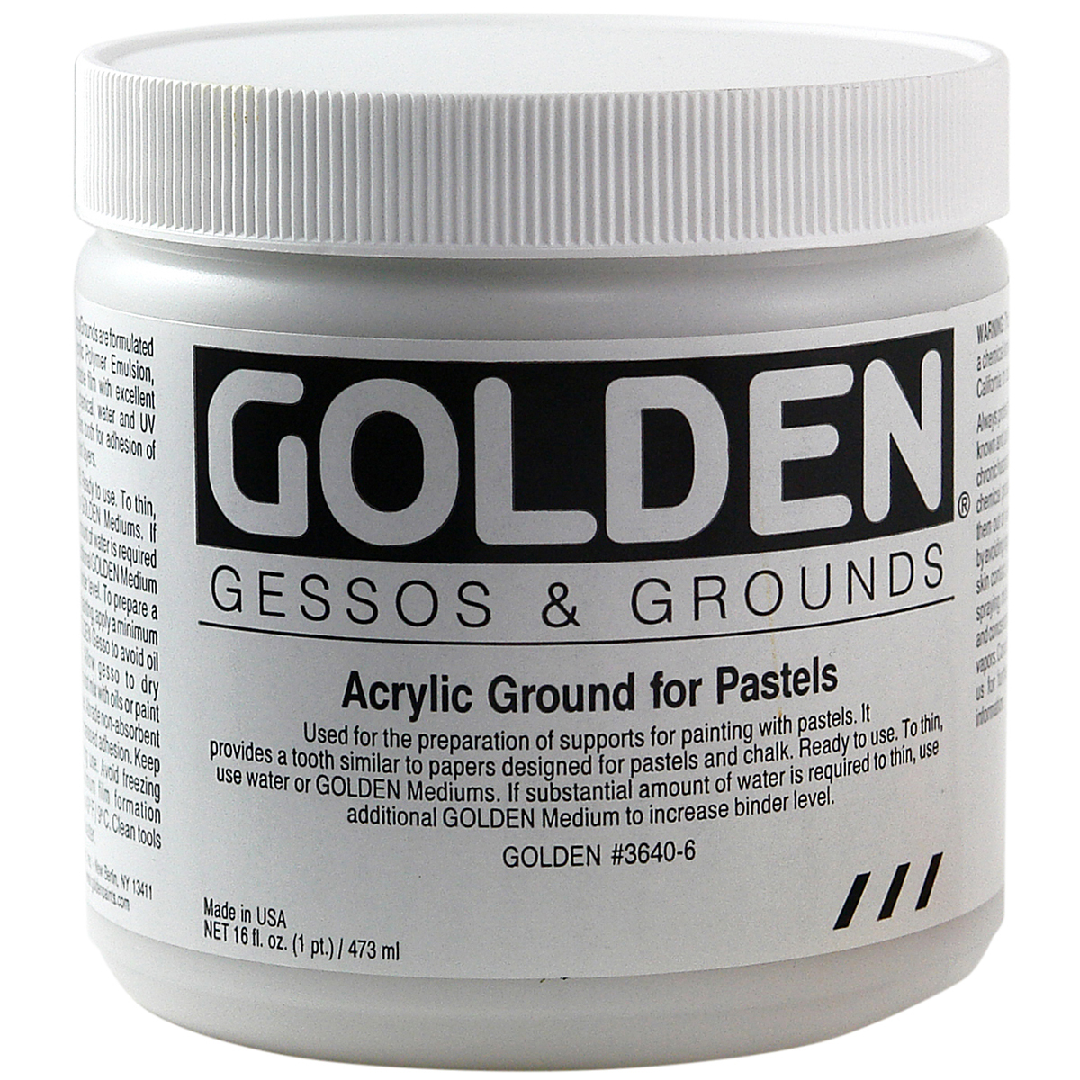 Golden Acrylic Ground For Pastel-8oz