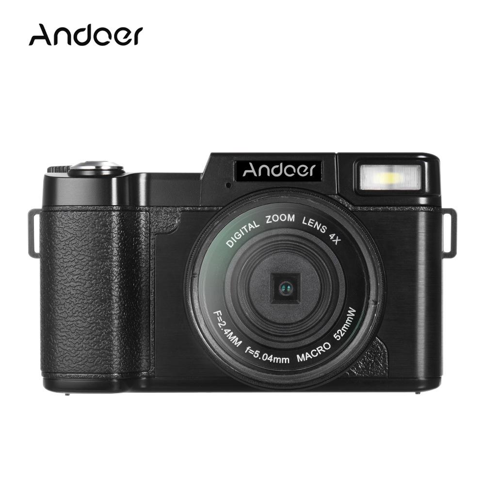 """Andoer CDR2 3.0"""" Rotatable LCD Screen 1080P 15fps 24MP Di..."""