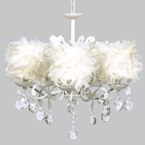 Jubilee Collection Elegance 5 Light Crystal Chandelier
