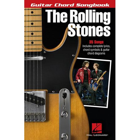 Guitar Chord Songbook Book - The Rolling Stones Guitar Chord Songbook
