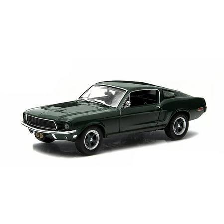 - 1968 Ford Mustang GT Fastback Steve McQueen Bullitt in 1:43 Scale by Greenlight