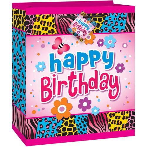 Wild Birthday Medium Gift Bag
