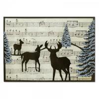 Sizzix Thinlits Die - Winter Deer by Rachael Bright