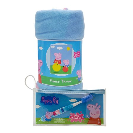 Peppa Pig Fleece Throw Blanket 45