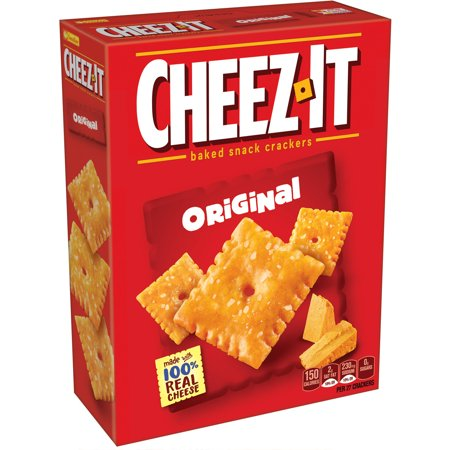 Cheez It Original Baked Snack Crackers  Box Of 7 Oz