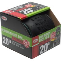 "Bell Sports Flat Defense Mountain Bike Tire, 20"" x 2.125"", Black"