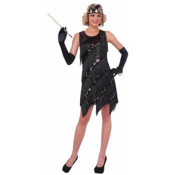 CO-MIDNIGHT DAZZLE-XS/S - Halloween Costumes Dressed In All Black