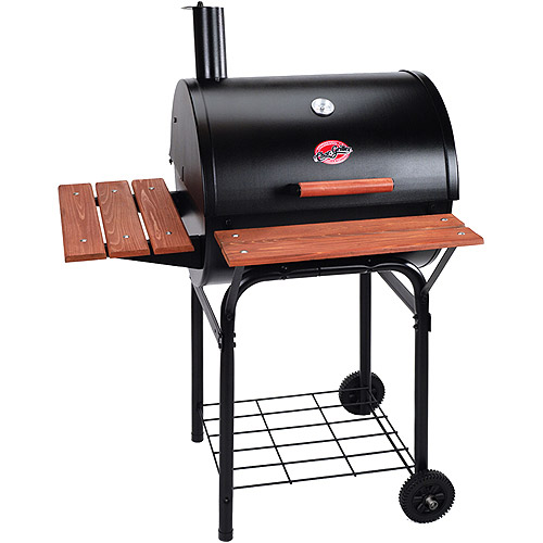 Char-Griller 435 sq. inch Wrangler Charcoal Grill, Black