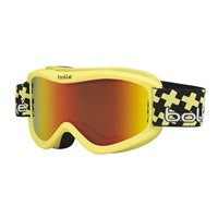Bolle Volt Plus Snow Goggles - Matte Yellow Cross Frame - Sunrise Lens - 21359