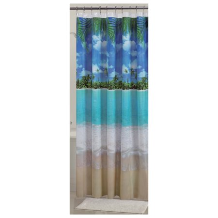 Mainstays Photoreal PEVA Shower Curtain, 1 Each Image 1 of 3
