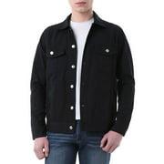 Men's Flap Chest Pockets Button Fastening Denim Jackets