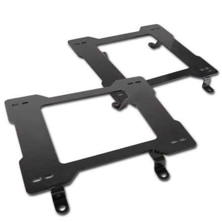 Spec-D Tuning 1979-1998 Ford Mustang Racing Seats Mounting Brackets Rail Track (Left + Right) 1979 1980 1981 1982 1983 1984 1985 1986 1987 1988 1989 1990 1991 1992 1993 1994 1995 1996 1997 1998 04 Ford Mustang Spec