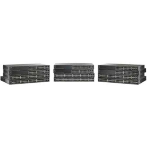 Cisco Sg500x-24mpp Layer 3 Switch 24 Ports Manageable 24 X Poe+ Stack Port 4 X Expansion Slots 10 100 1000base-t,... by Cisco