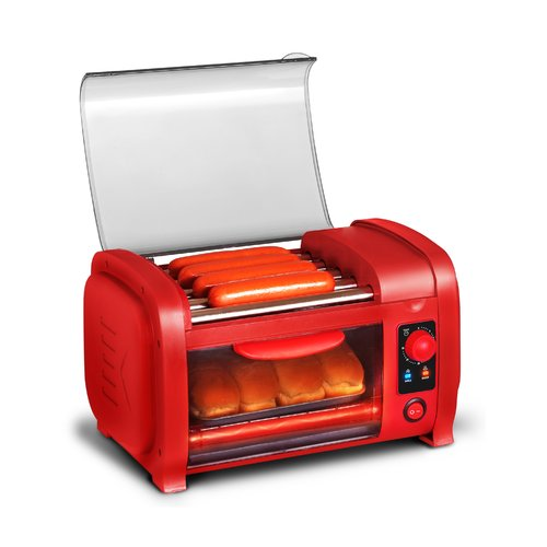 Elite by Maxi-Matic 2 Slice Hot Dog Roller Toaster Oven