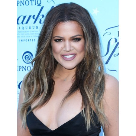 Khloe Kardashian At Arrivals For Hpnotiq Sparkle Launch Party Canvas Art     16 X 20