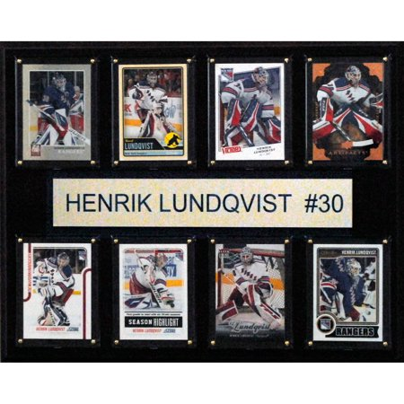 C I Collectables Nhl 12x15 Henrik Lundqvist New York Rangers 8 Card