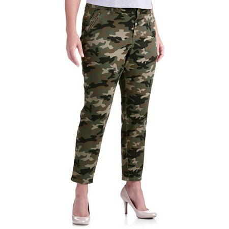 Luxury Faded Glory  Women39s Plus Convertible RollCuff Cargo Pants  Walmart