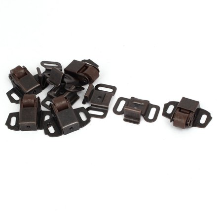 Bail Latch (Cabinet Wardrobe Door Single Ball Roller Latch Catches Copper Tone 5pcs)