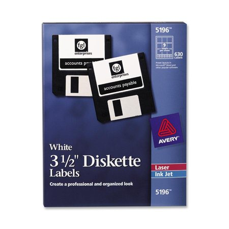 Diskette Pockets (Avery®, AVE5196, 3-1/2