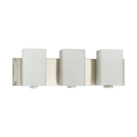 Amlite Lighting Amlite Wb 609 3 Bn Hudson Vanity