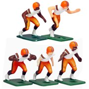 Cleveland Browns White Uniform Action Figures Set