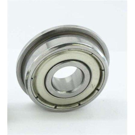 10 SLOT CAR Flanged Shielded Bearing 3/32