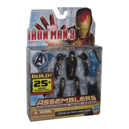 Marvel Iron Man 3 Assemblers System Stealth Tech Hasbro Action Figure
