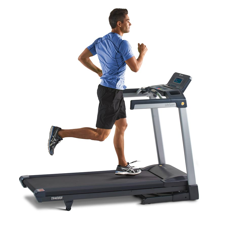 Lifespan Fitness TR4000i Touch Folding Treadmill 3.25 Hp