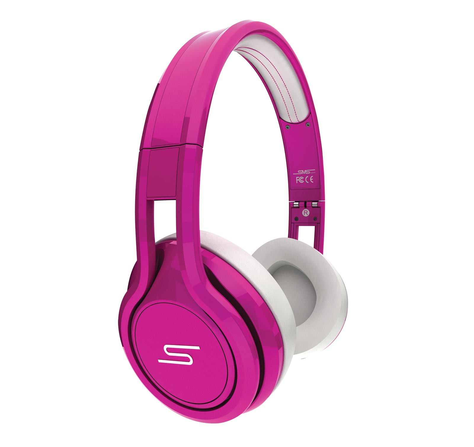 SMS Audio Street by 50 Cent Wired On-Ear Headphones - Pink
