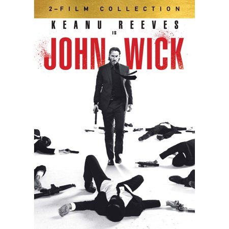 John Wick 1 & 2 Double Feature (DVD)