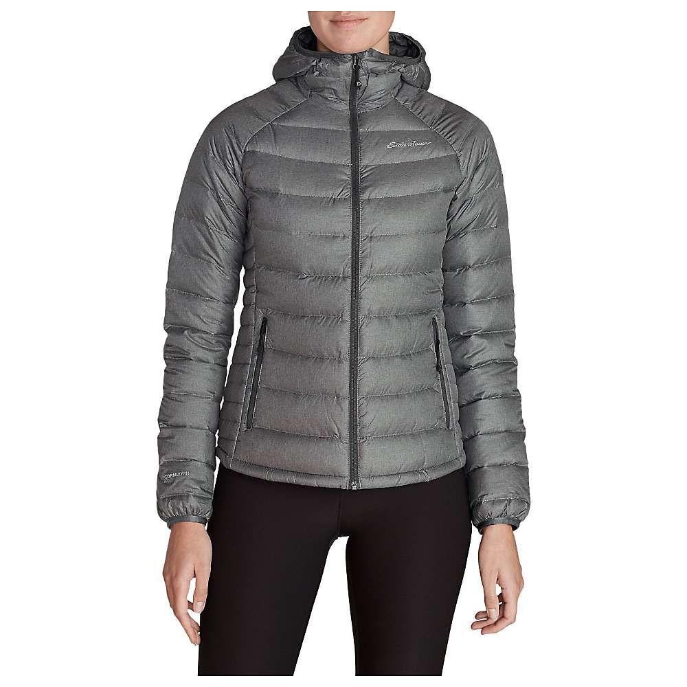 Eddie Bauer First Ascent Women's Downlight Stormdown Hooded Jacket