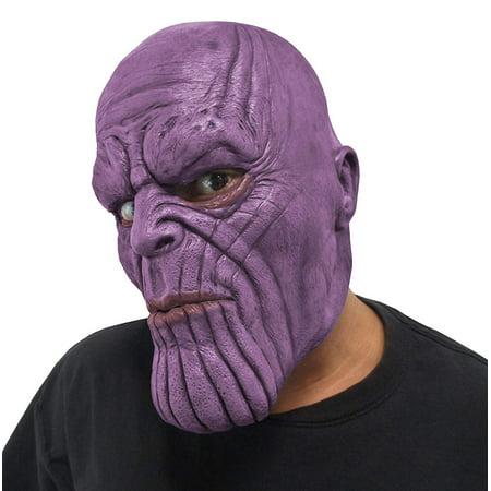 Marvel Avengers Infinity War Thanos Adult 3/4 Vinyl Costume Mask](Avengers Masks)