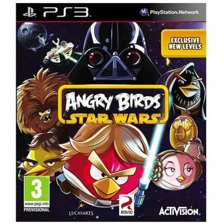Activision Angry Birds Star Wars (PS3) - Pre-Owned (Angry Birds Halloween Hd Happy Games)