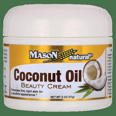 Mason Natural Coconut Oil Beauty Cream 2 oz Cream