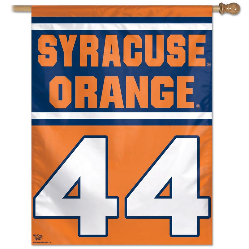 Syracuse University Vertical Outdoor House Flag