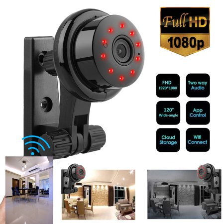 HD 1080P Wireless Home Camera, Indoor 2.4G Wifi Security Camera Surveillance System, Motion Detection, 2 Way Audio Night Vision for Home/Office/Baby/Nanny/Pet Monitor, Phone App Remote