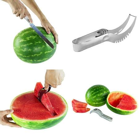 Classic 10' Super Slicer - Watermelon Knife Slicer Server for Serving Easy Watermelon Slices by Super Z Outlet