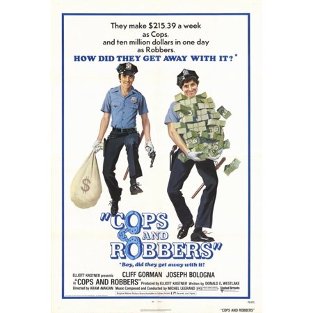 Cops and Robbers POSTER Movie B Mini Promo