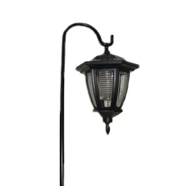 Garden Sun Light SS30P SHEPARDS HOOKS SOLAR LANTERN