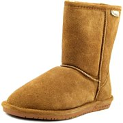 Bearpaw Emma Youth Youth  Round Toe Suede Brown Winter Boot
