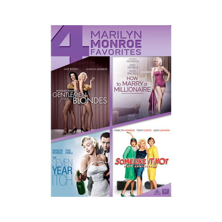 Gentlemen Prefer Blondes / How to Marry a Millionaire / The Seven Year Itch / Some Like It Hot (DVD)](Adults Hot Movies)