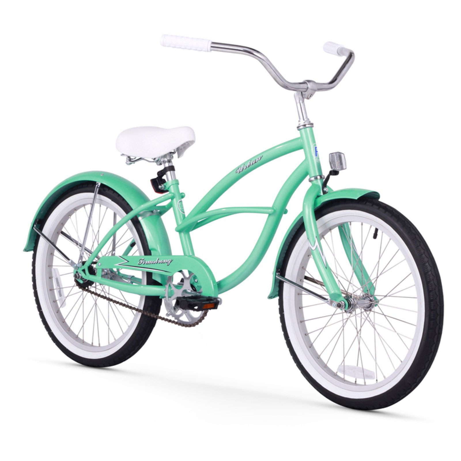 "Firmstrong Urban Girl, 20"", Girl's, Single Speed, Mint Green"