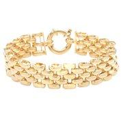 Mercury Gold Plated 8-inch Large Pantera Bracelet