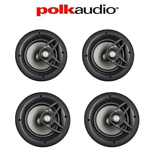 Polk Audio V80 High Performance Vanishing In-Ceiling Loudspeakers (4 Pack) by Polk Audio