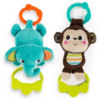Bright Starts Tug Tunes Take-Along Toy, Ages Newborn +