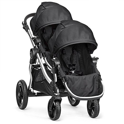 Baby Jogger City Select Double Stroller with Second Seat by Baby Jogger