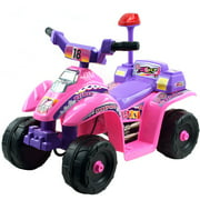 Rockin' Rollers Princess 4-Wheel Mini ATV Girls' 6-Volt Battery-Powered Ride-On