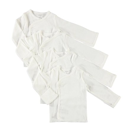 Carter's Baby Little Layette Side Snap Shirts with Built in No Scratch(3 Months) Side Snap Layette Set