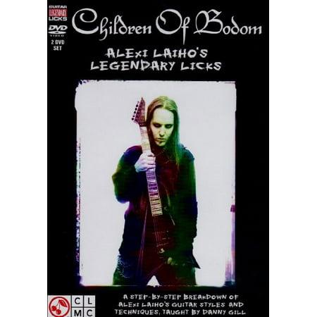 - Children of Bodom Legendary Licks (DVD)
