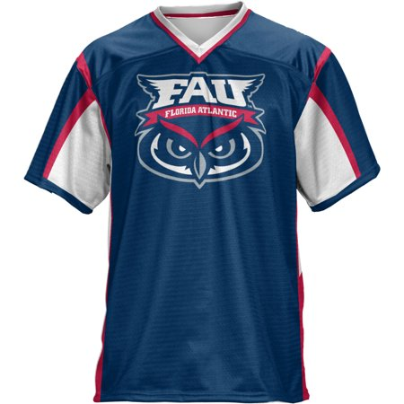 Fanmats Florida Atlantic University - ProSphere Men's Florida Atlantic University Scramble Football Fan Jersey